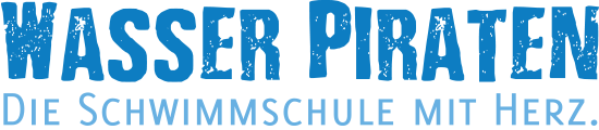 Schriftzug Wasser Piraten GmbH