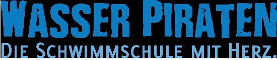 Schriftzug Wasser Piraten GmbH