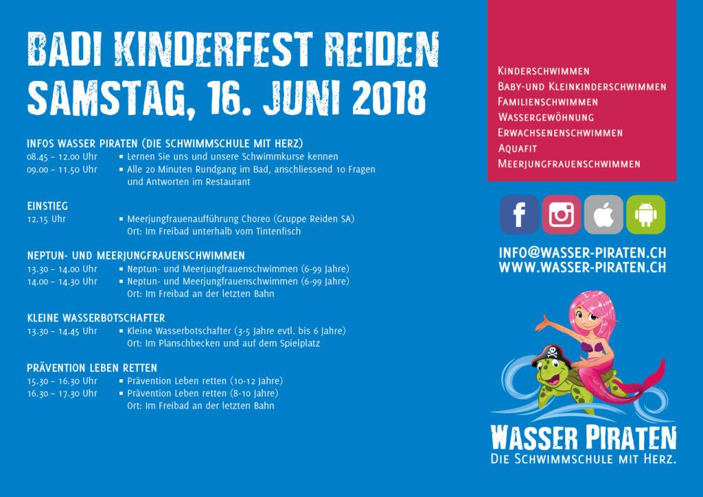 Badi Kinderfest Reiden 2018 Samstag