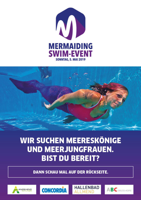 FLYER MERMAIDING SWIM EVENT 2019